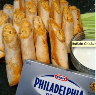 Buffalo Chicken Taquitos 11 Great Superbowl Snack Ideas {Links to Love}