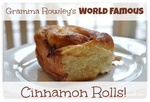 You'll need to set aside some time to make these incredible cinnamon rolls… the dough will need to rise twice before baking. But the process isn't hard at all!