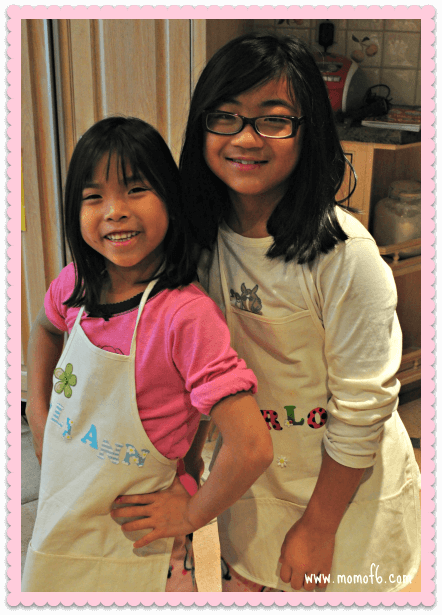 Cooking with Mom1 Are my younger kids having the same childhood as their older sibs? {#ShareYourLife}