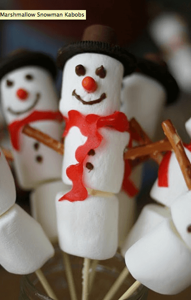 Marshmallow Snowman Kabobs All about Snowmen! {Links to Love}