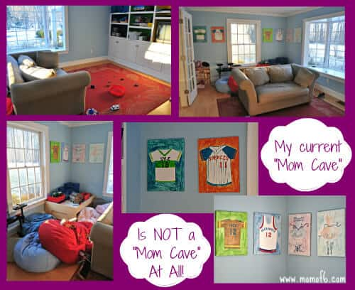 My current Mom Cave is not a Mom Cave at All Do You Ever Dream of a Room of Your Own?