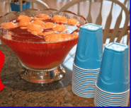 Party Punch 11 Great Superbowl Snack Ideas {Links to Love}