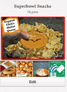 Superbowl Snacks- Pinterest Board | Momof6