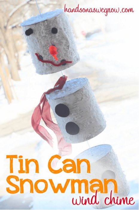 Tin Can Snowman All about Snowmen! {Links to Love}