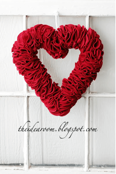 Valentines Wreath The Idea Room An Easy DIY Winter Wreath