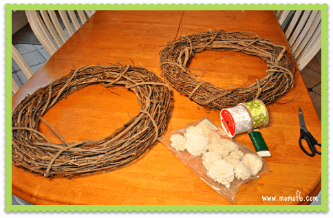 Winter Wreath Project The Materials An Easy DIY Winter Wreath