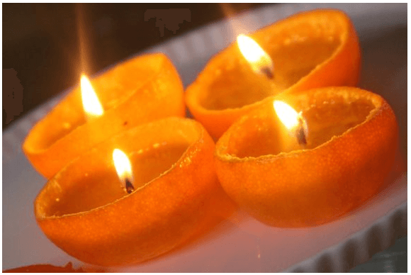 Clementine candles 7 Great Ways to Celebrate Valentines Day with Your Family! (Links to Love)