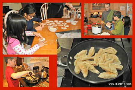 Making Dumplings Chinese New Year at Home  Dumplings and Decorations!