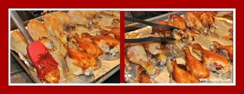 Oven Roasted BBQ Chicken Legs Oven Roasted BBQ Chicken Legs