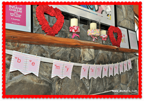 Valentine's Day Decor- FR Banner