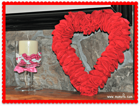 Valentine's Day Decor- Family Room Decor 1