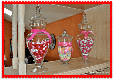 Valentine's Day Decor- Kitchen Candy