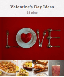 Valentine's Pin Board