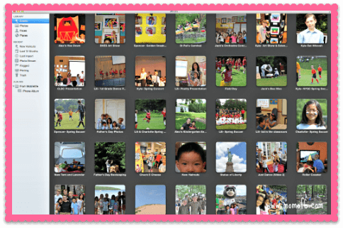 iPhoto How to Organize Your Photos