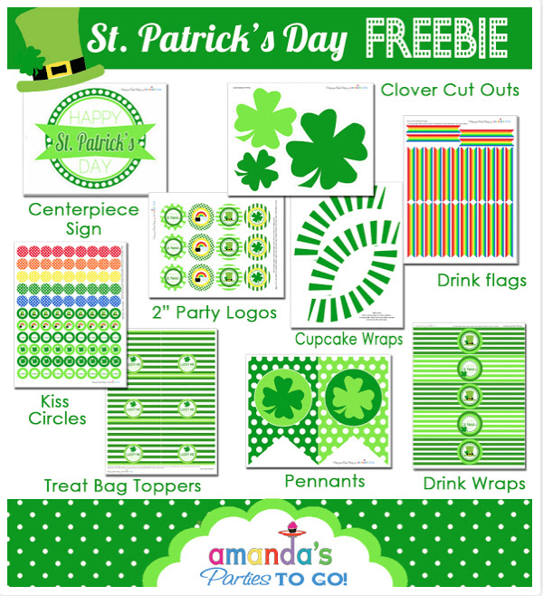 Free St Pattys Day Printables Make Your Own Apothecary Jars, Re Vamp an Old Frame, and Make Some Yummy Treats This Week {Links to Love}