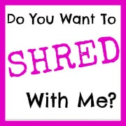 """Do you Want To """"Shred"""" With Me?"""
