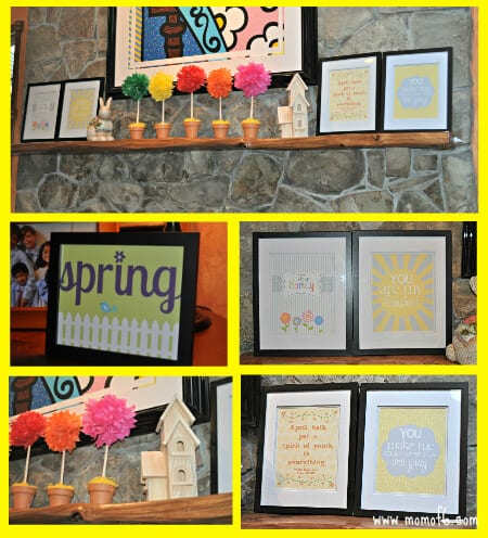 Spring Decor Family Room The Top 12 Best Free Spring Subway Art Printables!