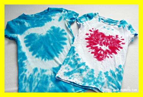 tie dye shirts Great 9 Year Old Girl Birthday Party Ideas: Tie Dye Party!