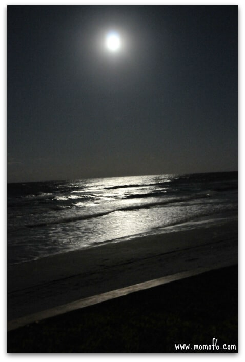 New Smyrna Moonrise1 Being Brave on Spring Break  Part Two! {Share Your Life}