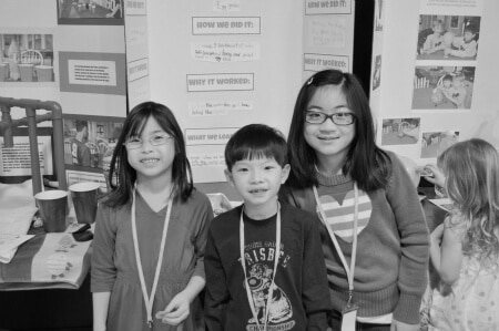 Science Fair- Black and White