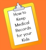 How to Keep Medical Records