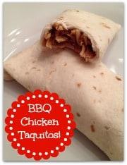 BBQ Chicken Taquitos Badge