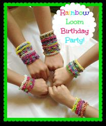 Rainbow Loom Birthday Party