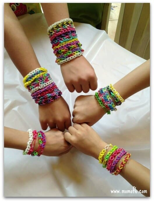 Rainbow Loom Birthday Party bracelets 12 Awesome Birthday Party Ideas for Girls!
