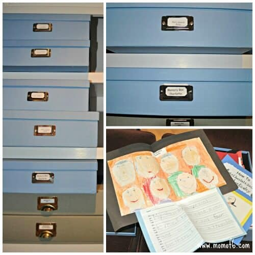 art and memory boxes