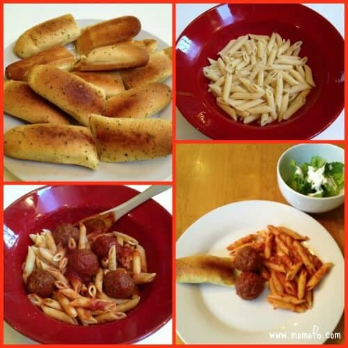 Easy Pasta Night {Road Trip Cooking}