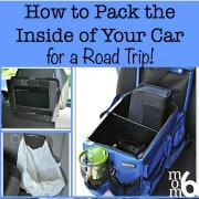 Packing for a Road Trip- The Inside of the Car