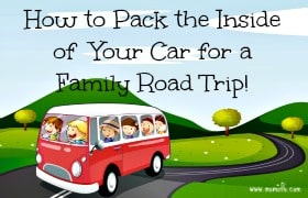 How to pack the inside of your car