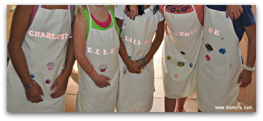 Cupcake Wars Aprons Great Birthday Party Idea for An 8 Year Old Girl: A Cupcake Wars Party!