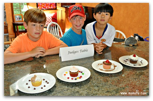 Cupcake Wars Judges Table Great Birthday Party Idea for An 8 Year Old Girl: A Cupcake Wars Party!