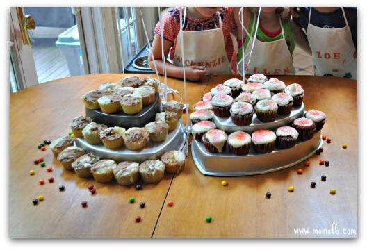 Cupcake Wars Round Three1 Great Birthday Party Idea for An 8 Year Old Girl: A Cupcake Wars Party!