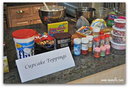 Cupcake Wars Toppings Great Birthday Party Idea for An 8 Year Old Girl: A Cupcake Wars Party!