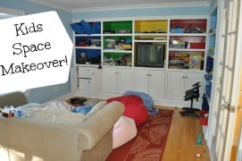 Kids Space Makeover