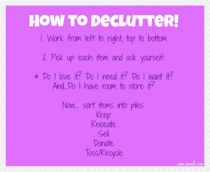 How to Declutter! {How to Organize Your Life #10}