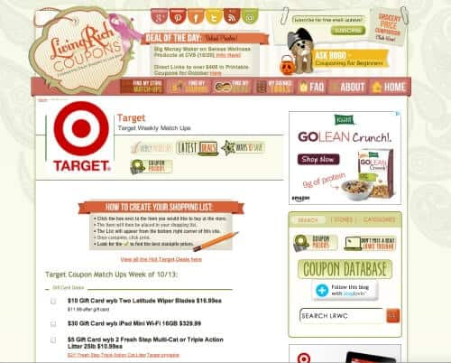 LRWC Target How to Save Money at Target! {Save $, Shop Smarter #6}