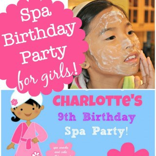 Great 9 Year Old Girl's Birthday Party Idea: A Spa Birthday Party!