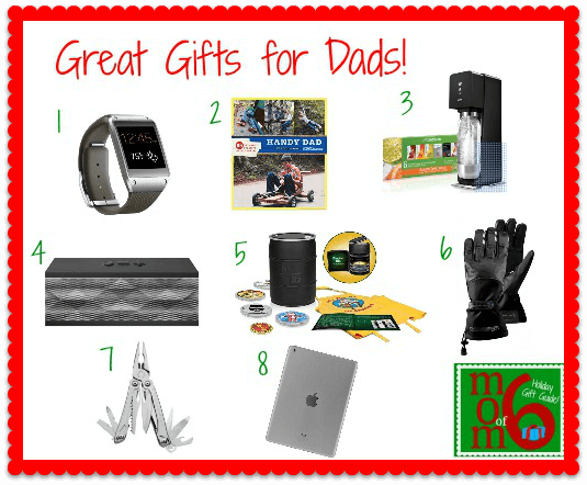 Great Gifts for Dads Great Holiday Gifts for Dads!