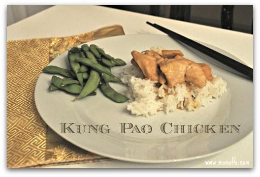 Kung Pao Chicken- served