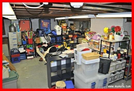 basement- before
