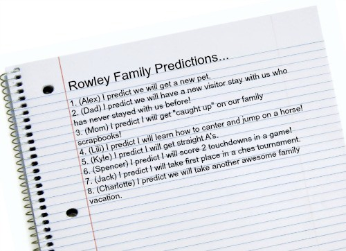 Family Predictions