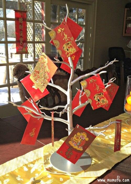 Chinese New Year Decorations- Hong Bao Tree
