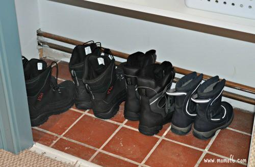 Mud Room- boots