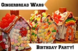 Gingerbread Wars Birthday Party