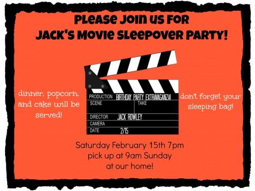 Jack's invite