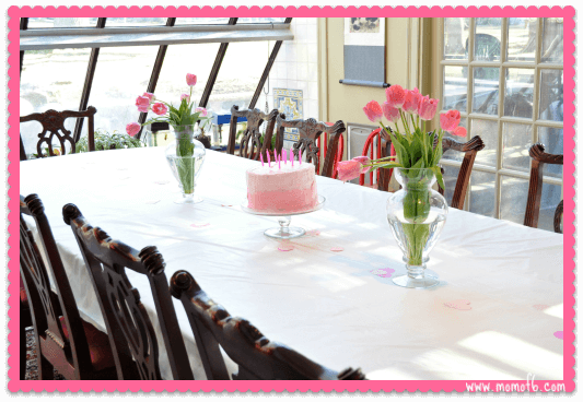 Table For 6 Year Old: Art Birthday Party! A Great Party Idea For 10 Year Old