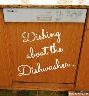 Dishing About the Dishwasher